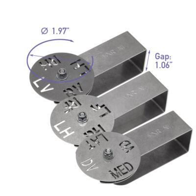 Multiclip DR X-ray Clip