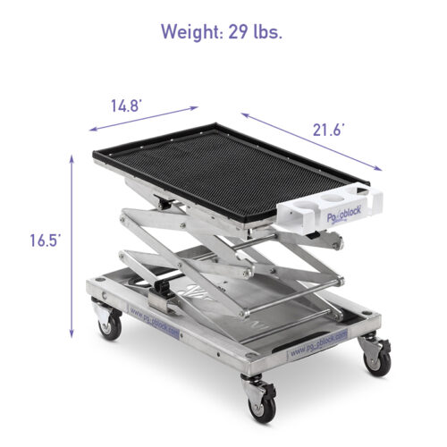 SCANster Portable Veterinary Trolley